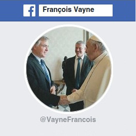 Page Facebook de François Vayne